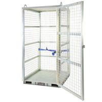 Lockable Gas Storage Cage
