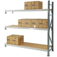 Longspan Timber Shelving Add on Bay 1800x1800x600mm (HxWxD)